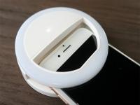 Lumee Selfie Ring voor de General mobile Discovery 2, batterijen
