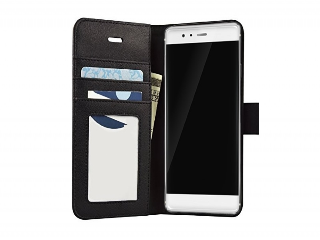 Leather Wallet Book Case for Huawei P8 Lite