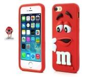 M&M case  red
