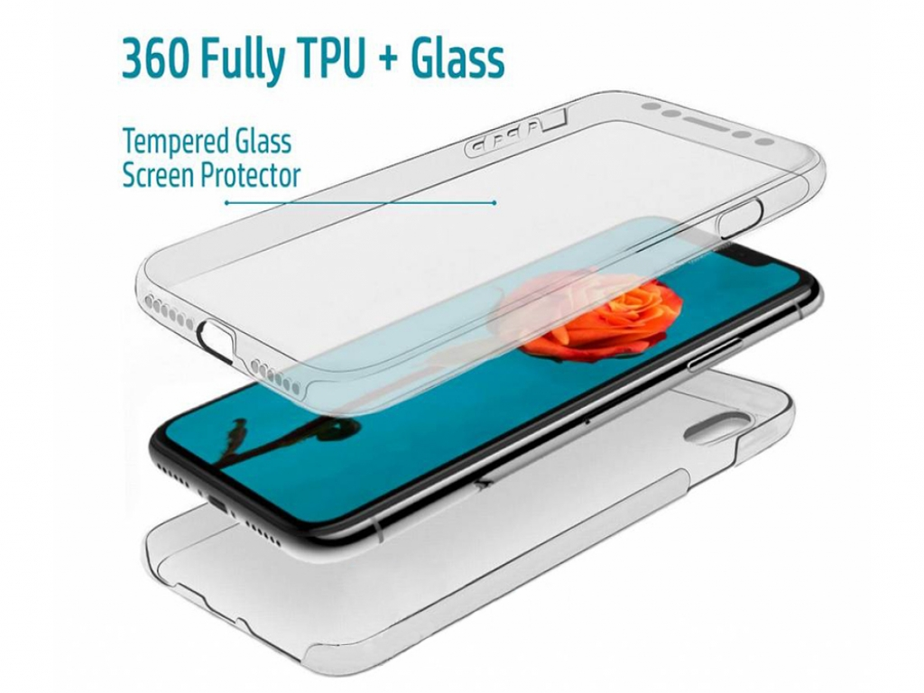 TPU Case  front and back protection