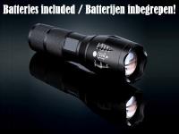 TL360 Militaire LED Zaklamp 3800 Lumen met batterijen