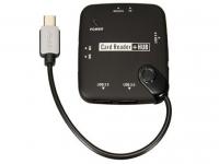 OTG USB Hub en Card Reader geschikt voor Universeel Universeel