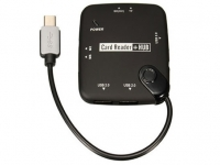 OTG USB Hub and Card Reader for