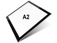 A2 LED licht Lichtbak / Tekentafel / Lichttafel / Lightpad Pro