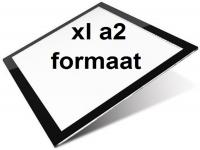 XL  A2 LED licht Lichtbak / Tekentafel / Lichttafel / Lightpad Pro