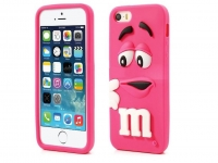 M&M case  Hot Pink