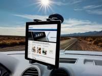 Verstelbare Autohouder voor Qware Tablet pro 4 slim 9.7 inch