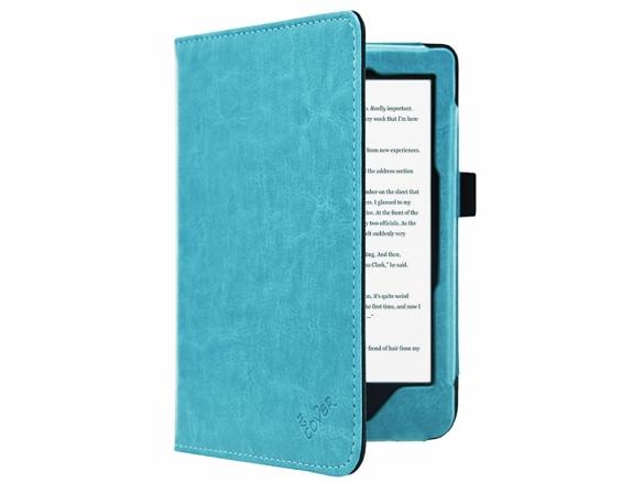 Hoesje Met Licht : Kobo clara hd luxe e reader hoesje luxe materiaal licht blauw