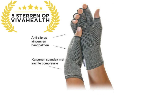 Rheumatism, Arthritis and Arthrose, compression gloves