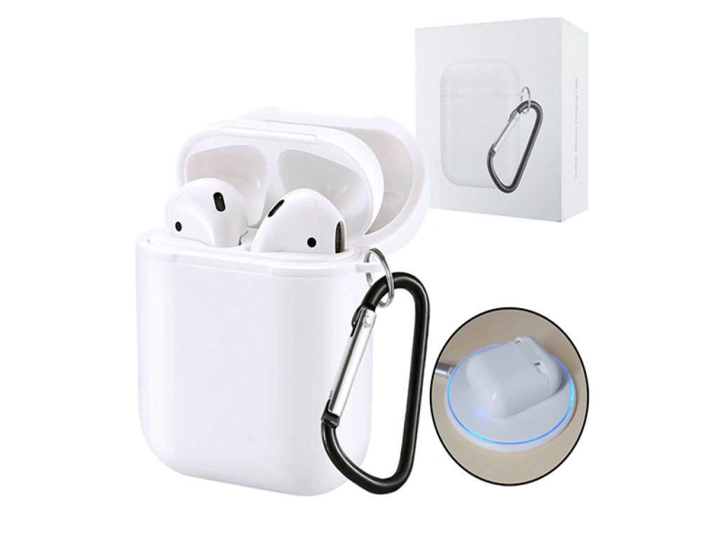 Draadloze Airpods oplader case