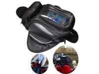 Tanktas Motor, Regenbestendige telefoonhouder en tas voor motor, navigatie tas voor metalen tank, magnetisch