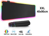 XXL RGB LED (Gaming) Mousepad | anti slip | 90x40