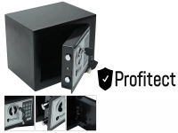 Electronic safe with number lock and spare keys, 4.5 Litres