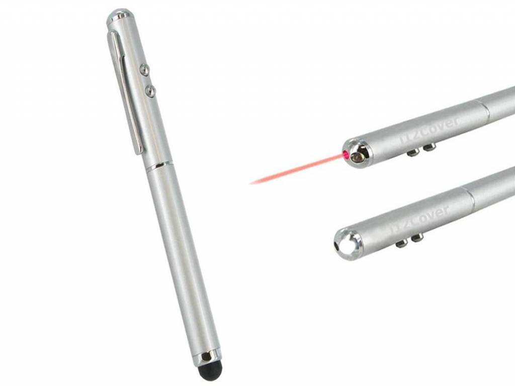 Stylus 3 in 1 voor %merk Toughpad fz m1 met laser pointer