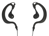 In-ear Earphones with flexible earhook