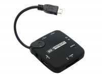 OTG USB Hub and Card Reader for Kruidvat Cherry mobility 10.1 quadcore m1023q