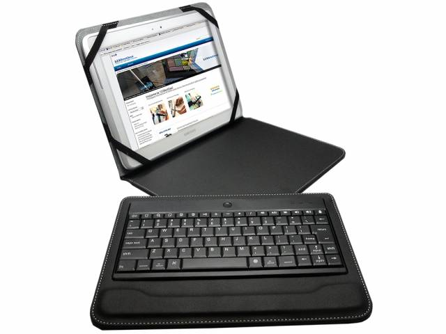 9.7 10 inch Luxe Bluetooth Keyboard Case
