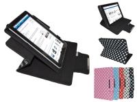 Qware Tablet pro 4 slim 9.7 inch Polka dot Diamond Class Hoes 360 graden draaibaar