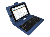Blauwe Keyboard Case voor Nha tablet 7 inch Tablet