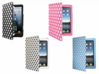 Premium custom-made Tablet Case with polka dot print design for the