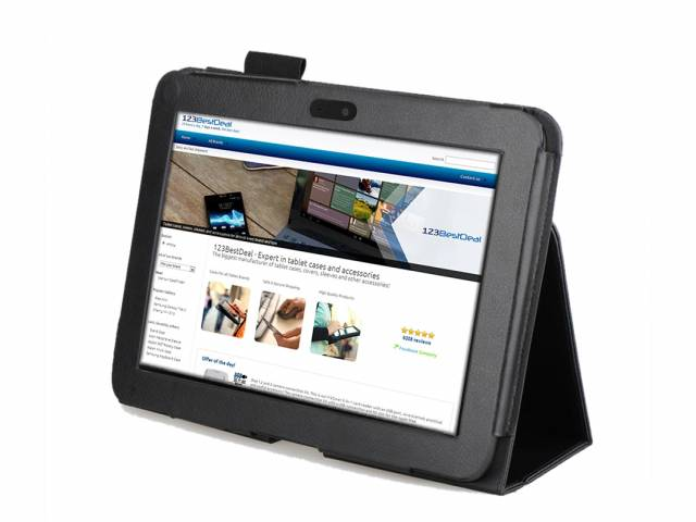 Kindle HD 7 en Kindle HD 8.9 gesloten tablethoesje · Voorkant