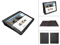 Black custom-made Tablet Case with built-in stand for your